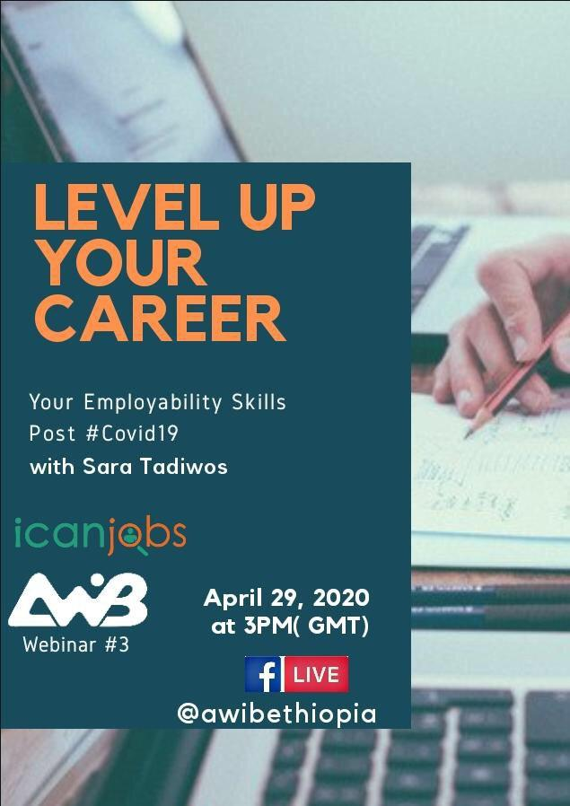 LEVEL UP YOUR CAREER:  YOUR EMPLOYABILITY SKILLS POST COVID-19